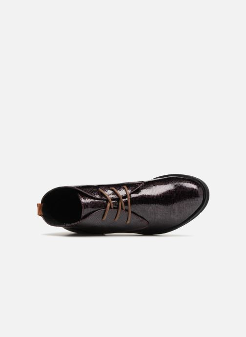 Lace-up shoes Marco Tozzi TORY Purple view from the left