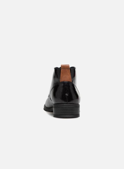 Lace-up shoes Marco Tozzi TORY Black view from the right