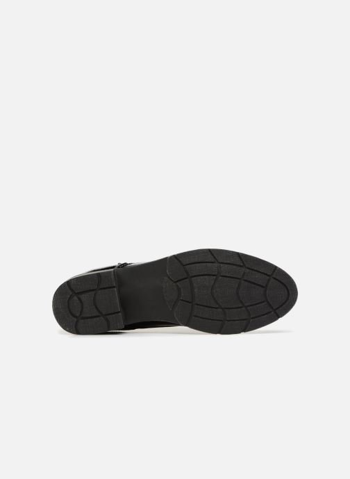 Lace-up shoes Marco Tozzi TORY Black view from above