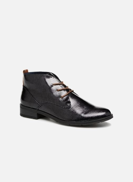 Lace-up shoes Marco Tozzi TORY Black detailed view/ Pair view