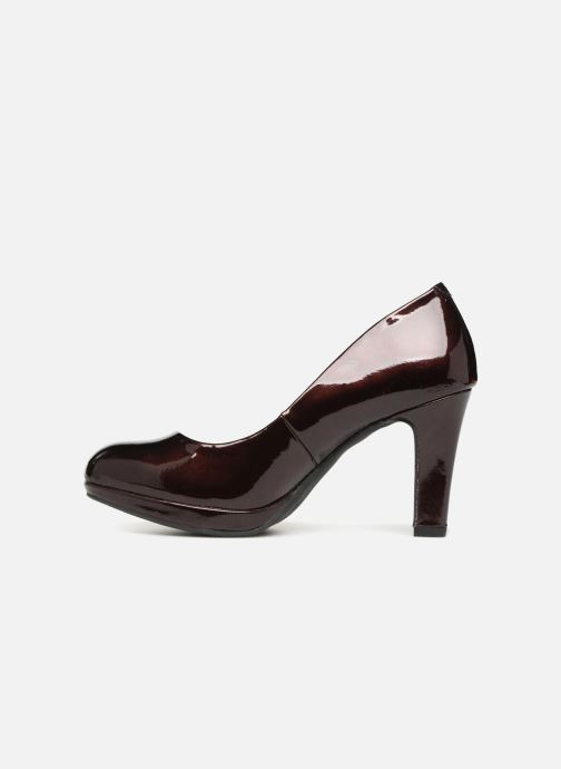 High heels Marco Tozzi LETH Burgundy front view