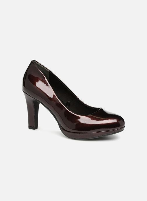 High heels Marco Tozzi LETH Burgundy detailed view/ Pair view