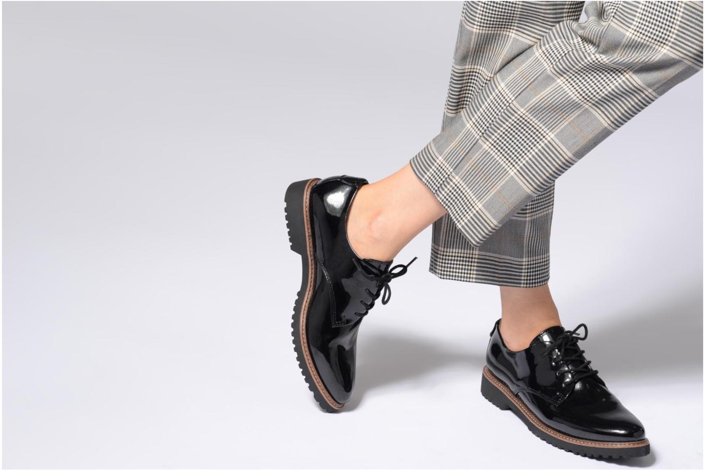 Chaussures à lacets Marco Tozzi PERLE Noir vue bas / vue portée sac