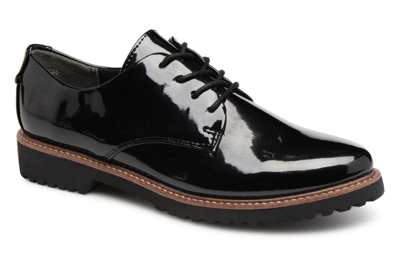Chaussures à lacets Marco Tozzi PERLE Noir vue détail/paire