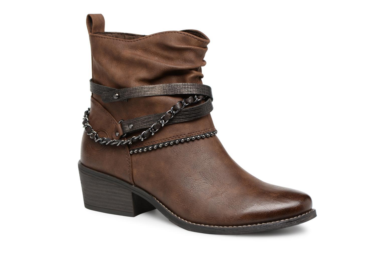 Nuevo Botines zapatos Marco Tozzi TESAR (Marrón) - Botines Nuevo  en Más cómodo 898b24