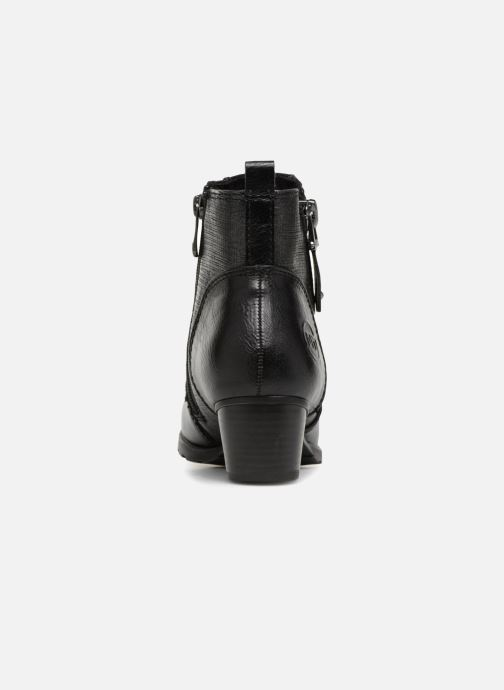 Ankle boots Marco Tozzi JONES Black view from the right
