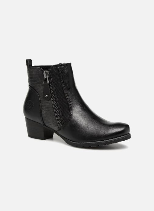 Ankle boots Marco Tozzi JONES Black detailed view/ Pair view