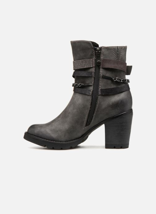 Ankle boots Marco Tozzi CARO Grey front view