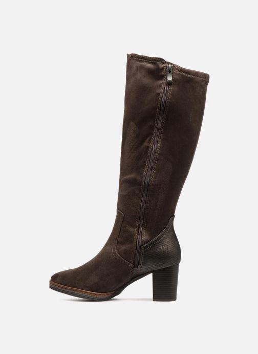 Boots & wellies Marco Tozzi LOUIE Brown front view