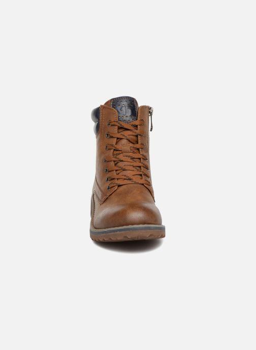 Boots en enkellaarsjes Marco Tozzi JALES Bruin model