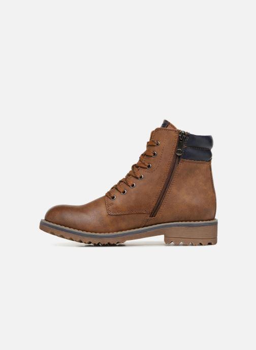 Boots en enkellaarsjes Marco Tozzi JALES Bruin voorkant