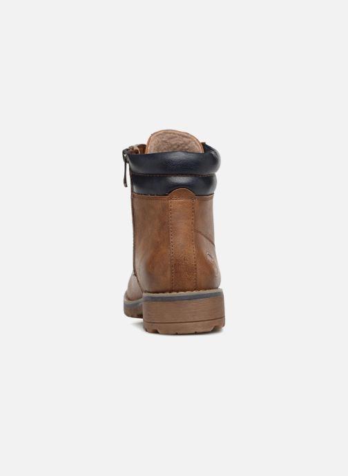 Boots en enkellaarsjes Marco Tozzi JALES Bruin rechts