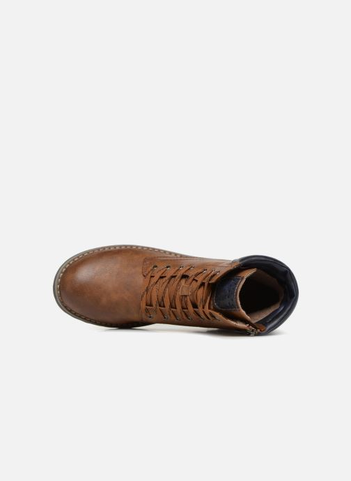 Boots en enkellaarsjes Marco Tozzi JALES Bruin links