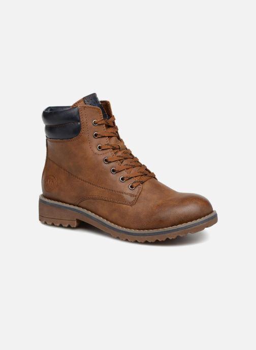 Boots en enkellaarsjes Marco Tozzi JALES Bruin detail