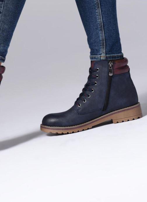 Bottines et boots Marco Tozzi JALES Bleu vue bas / vue portée sac