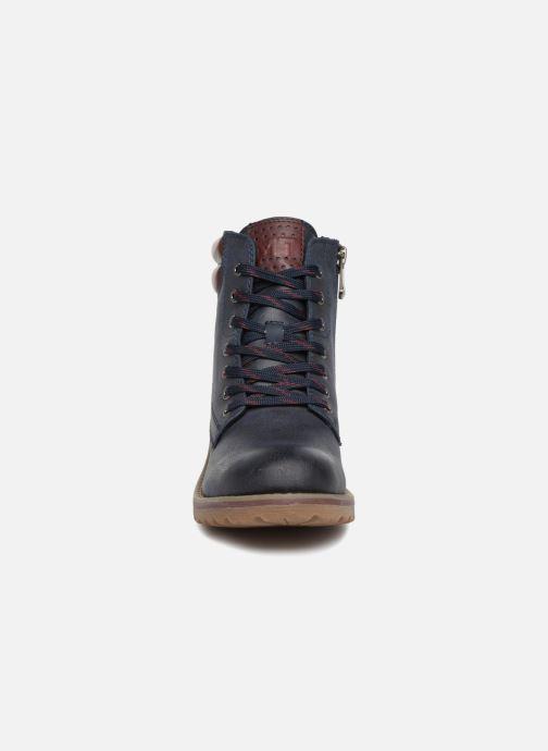 Bottines et boots Marco Tozzi JALES Bleu vue portées chaussures