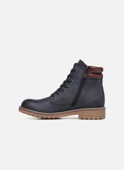 Bottines et boots Marco Tozzi JALES Bleu vue face