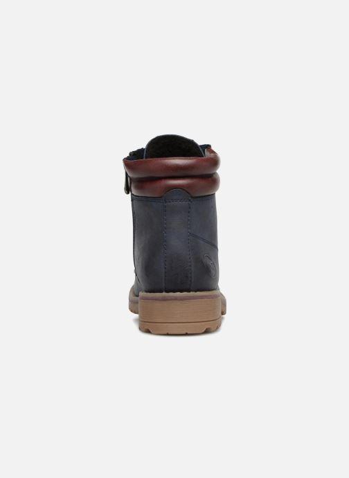 Bottines et boots Marco Tozzi JALES Bleu vue droite