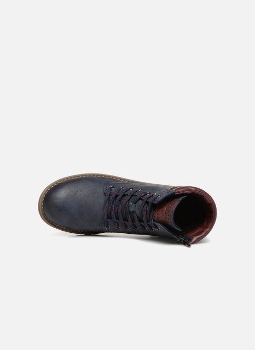 Bottines et boots Marco Tozzi JALES Bleu vue gauche