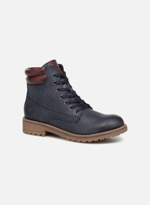 Bottines et boots Marco Tozzi JALES Bleu vue détail/paire