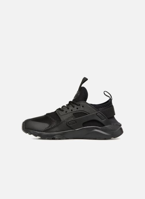Trainers Nike Huarache Run Ultra (PS) Black front view