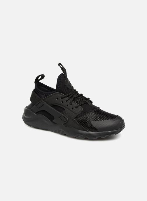 Trainers Nike Huarache Run Ultra (PS) Black detailed view/ Pair view