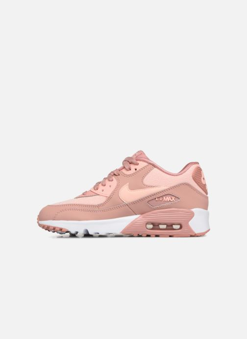 Nike Air Max 90 SE Mesh GS chaussures enfants rose Baskets