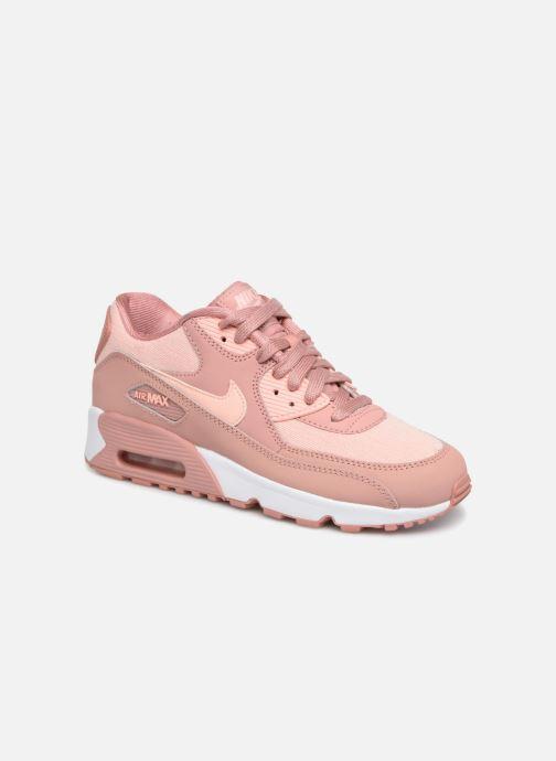 huge discount a2374 6ba27 Nike Air Max 90 SE Mesh (GS) (Rose) - Baskets chez Sarenza (339303)