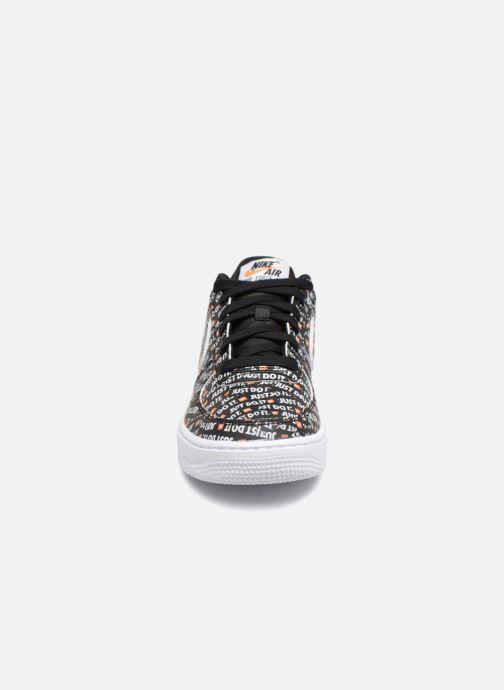 brand new 5b916 774ca Baskets Nike Air Force 1 JDI Premium Noir vue portées chaussures