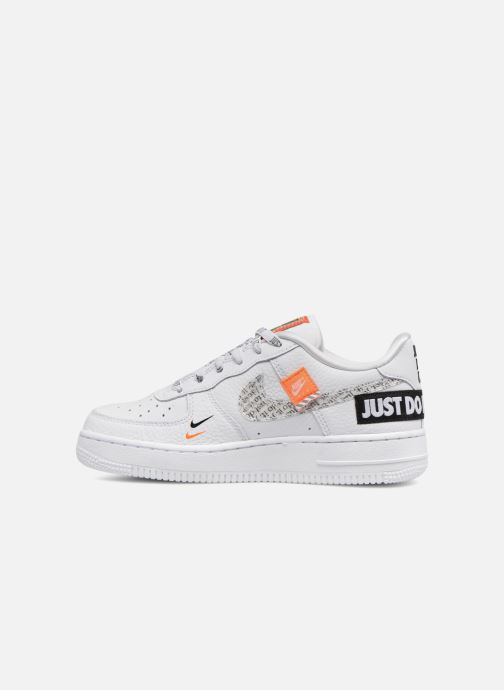 first rate 7d301 0dd0e Baskets Nike Air Force 1 JDI Premium Blanc vue face