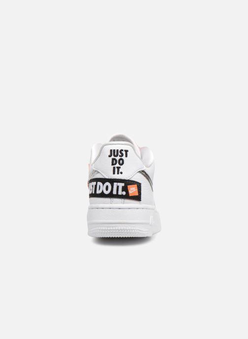 online store d84a9 1f6c3 Baskets Nike Air Force 1 JDI Premium Blanc vue droite