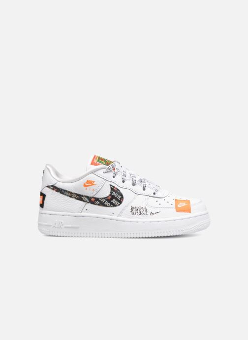 finest selection 4cd7d 35693 Baskets Nike Air Force 1 JDI Premium Blanc vue derrière