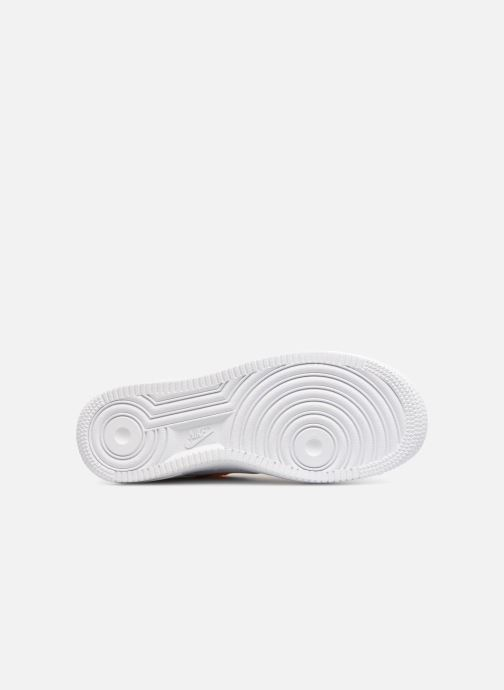 on sale e3382 36b1e Baskets Nike Air Force 1 JDI Premium Blanc vue haut