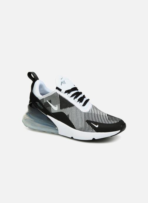 newest 9dc46 379dc Baskets Nike Air Max 270 Knit Jacquard Noir vue détailpaire
