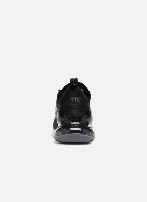Sneaker Nike Air Max 270 Knit Jacquard schwarz ansicht von rechts