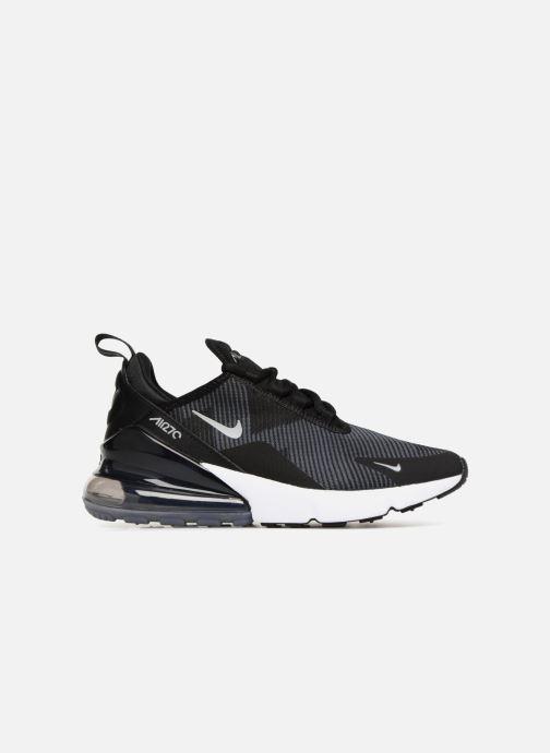 Sneaker Nike Air Max 270 Knit Jacquard schwarz ansicht von hinten