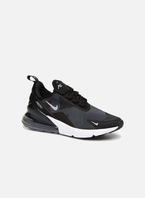 Sneaker Nike Air Max 270 Knit Jacquard schwarz detaillierte ansicht/modell