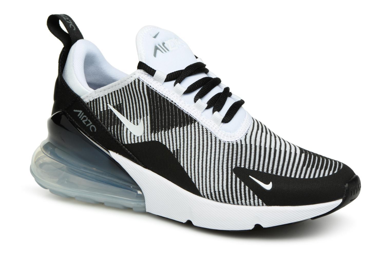 Baskets Nike Air Max 270 Knit Jacquard Noir vue détail/paire