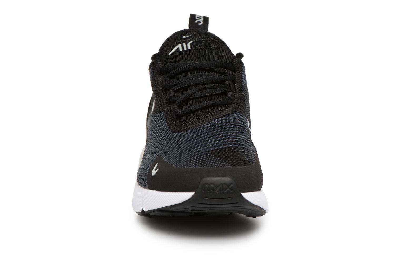 Sneakers Nike Air Max 270 Knit Jacquard Zwart model