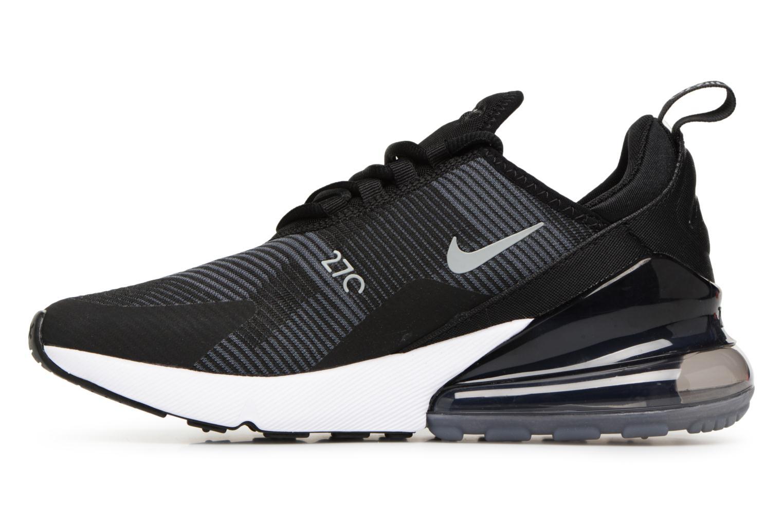 Sneakers Nike Air Max 270 Knit Jacquard Zwart voorkant