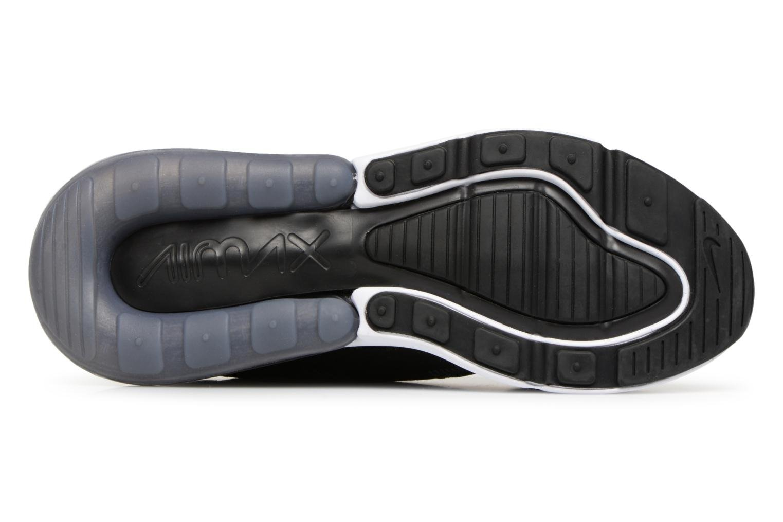 Sneakers Nike Air Max 270 Knit Jacquard Zwart boven