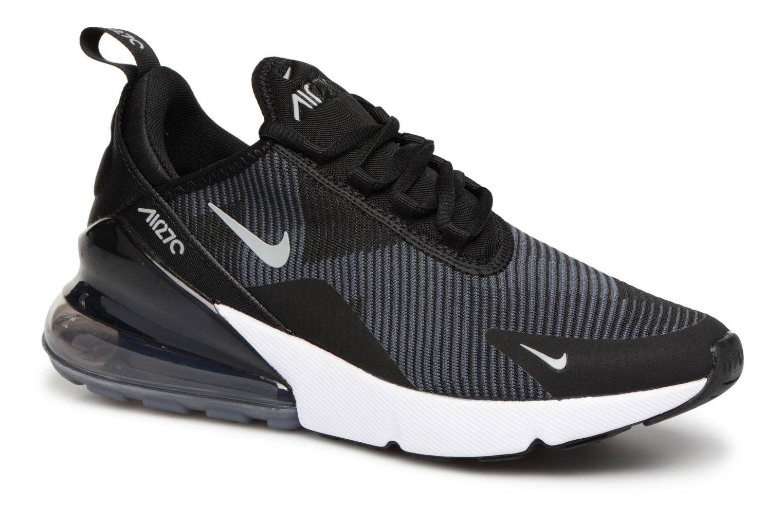 Sneakers Nike Air Max 270 Knit Jacquard Zwart detail