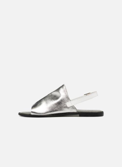 Sandaler Vero Moda Metalic sandal Silver bild från framsidan