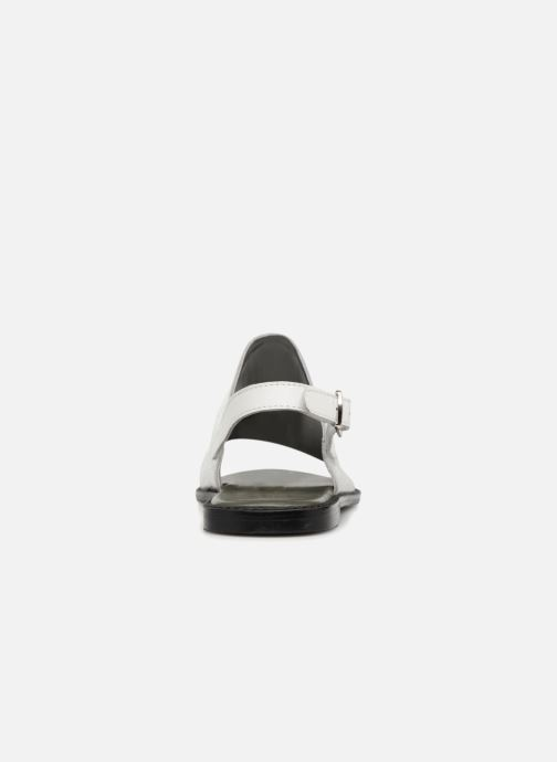 Sandals Vero Moda Metalic sandal Silver view from the right