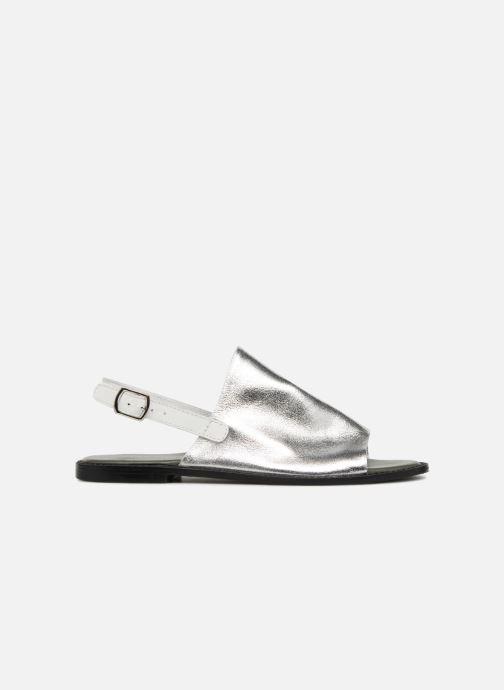 Sandals Vero Moda Metalic sandal Silver back view