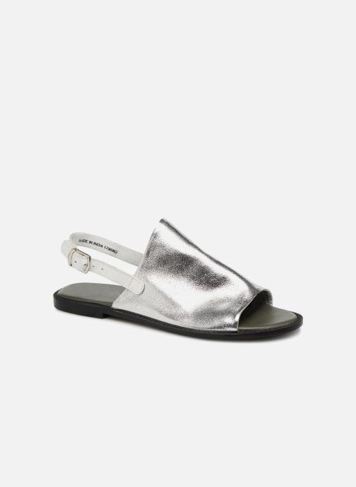 Sandals Vero Moda Metalic sandal Silver detailed view/ Pair view