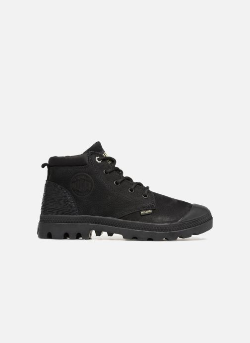 Ankle boots Palladium Low Cuff Lea  W Black back view