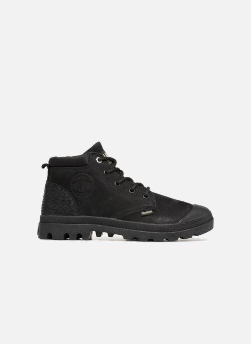 Bottines et boots Palladium Low Cuff Lea  W Noir vue derrière