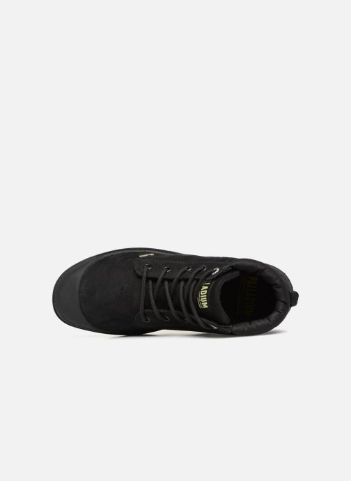 Bottines et boots Palladium Low Cuff Lea  W Noir vue gauche