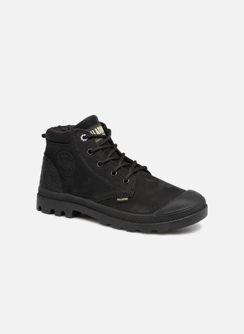 Bottines et boots Palladium Low Cuff Lea  W Noir vue détail/paire